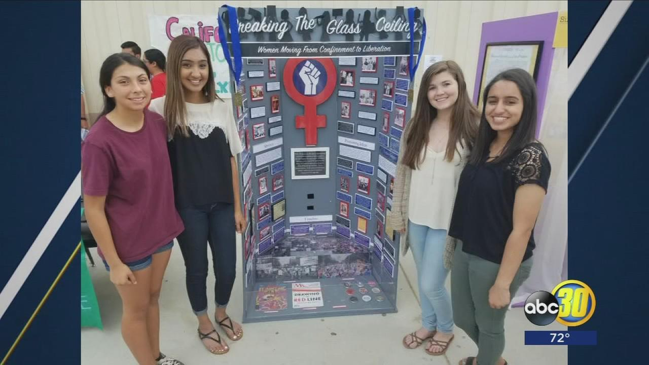 Central Valley high school students have project displayed in Smithsonian