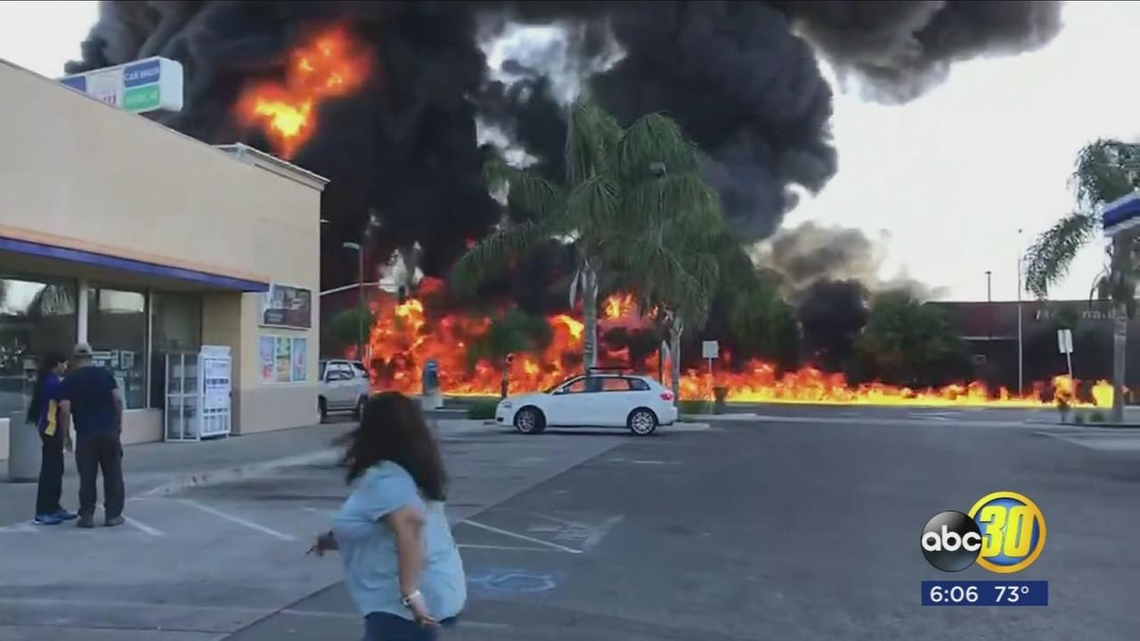 Businesses reopen after massive tanker explosion in Atwater