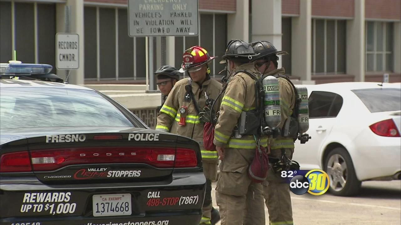 Arsonist hits Fresno police chiefs car; other fires may be related