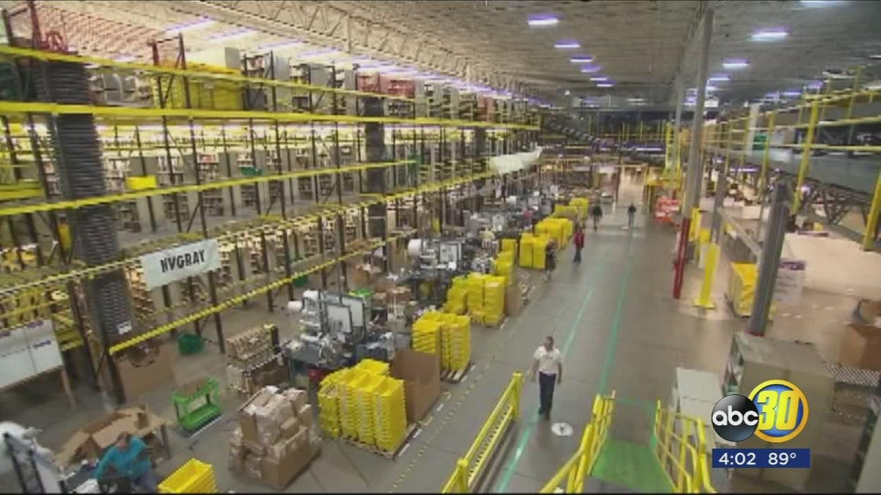 Amazon announces Fresno fulfillment center