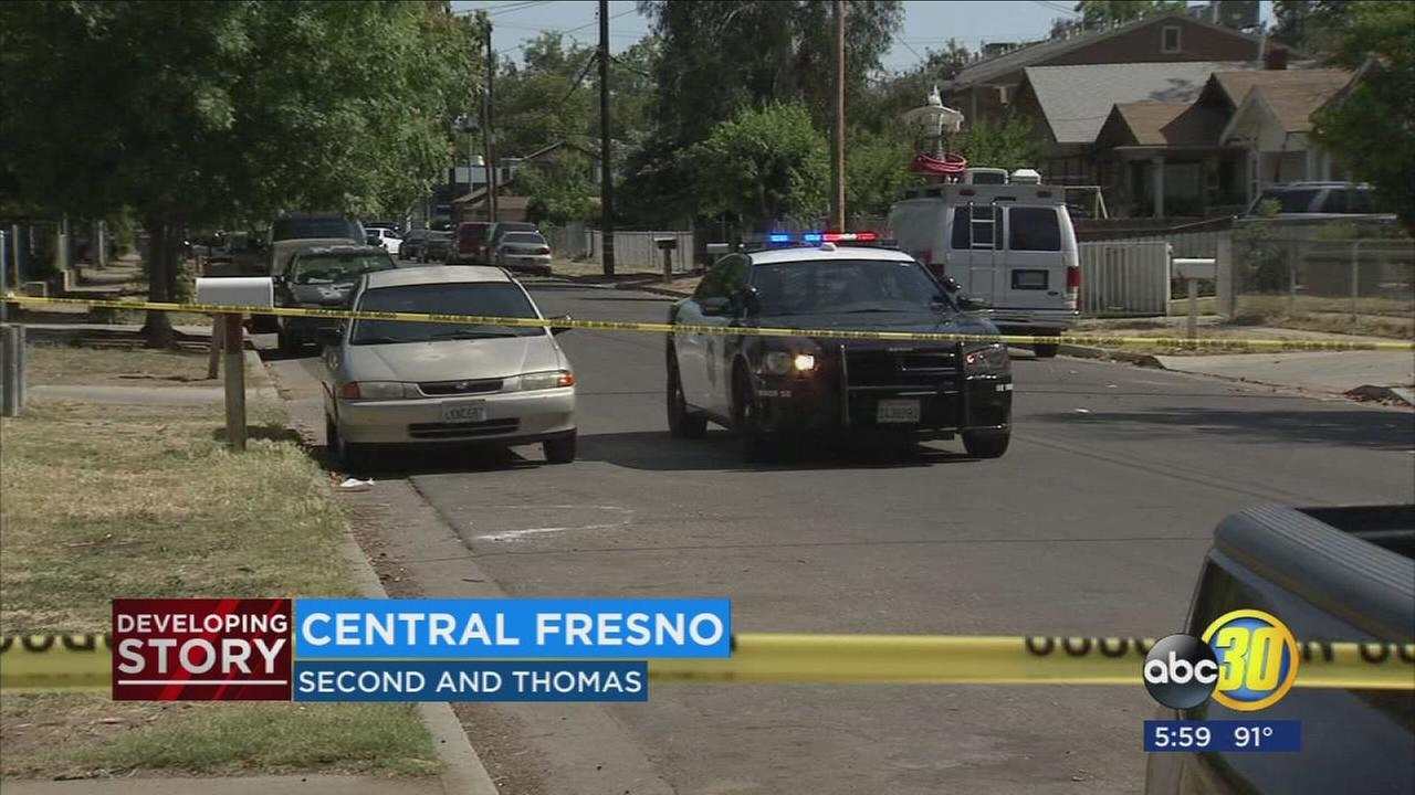 Man in serious condition after being shot multiple times in Central Fresno