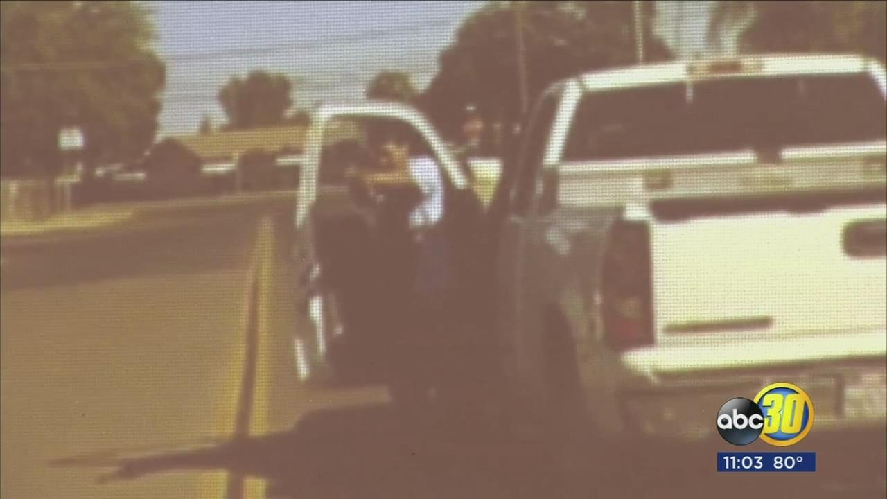 Madera Police release dash camera video from the officer involved shooting