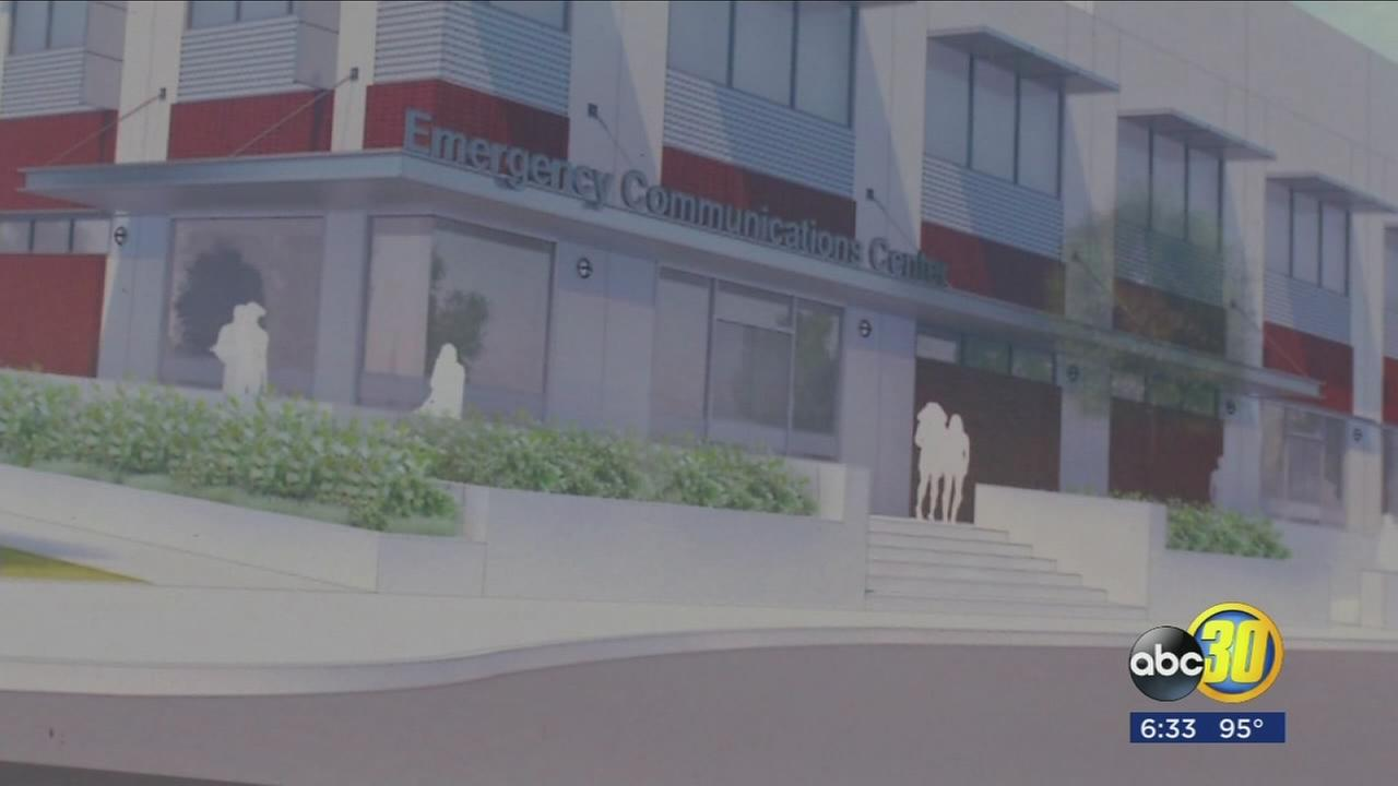 Construction moves forward on new Visalia Emergency Communications Center