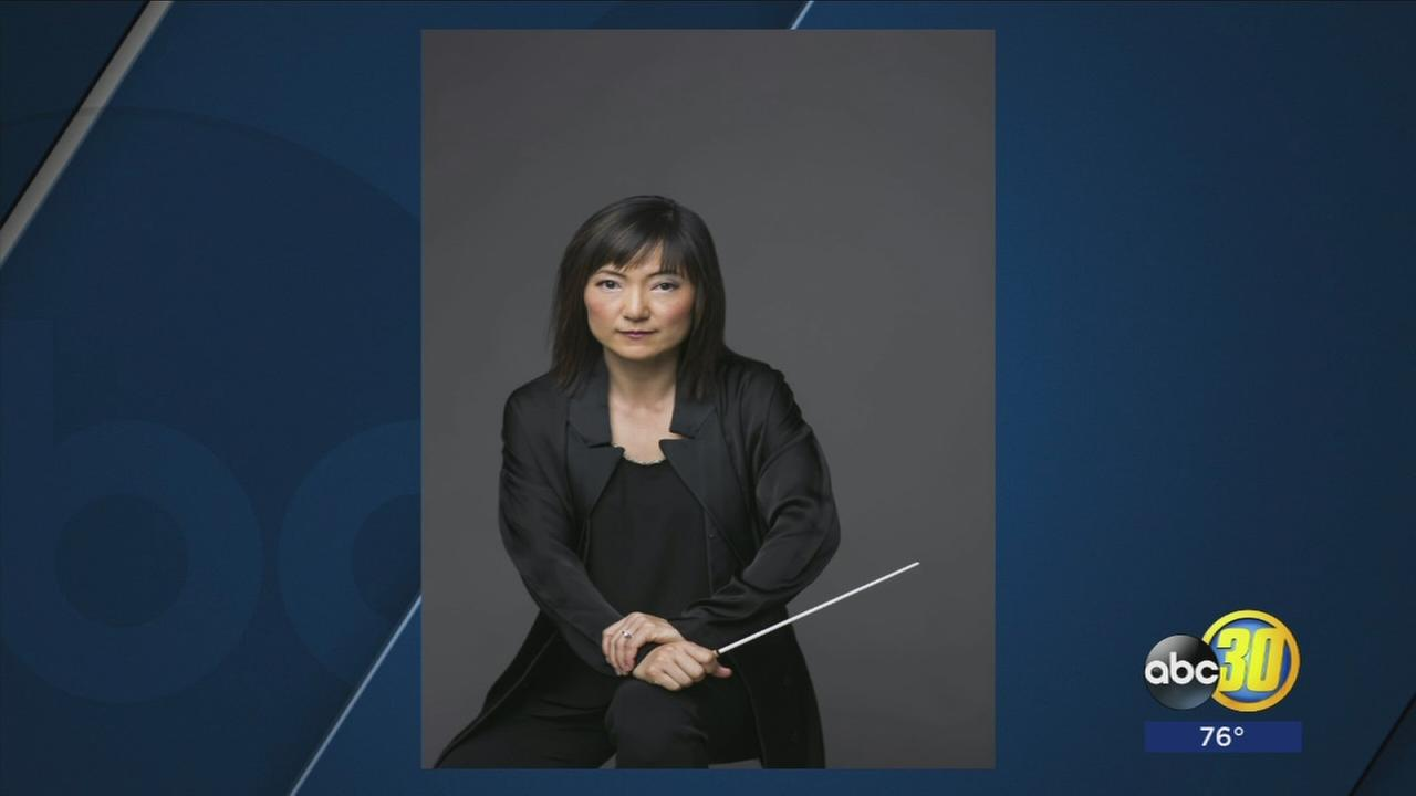 Fresno Philharmonic hires first woman music director