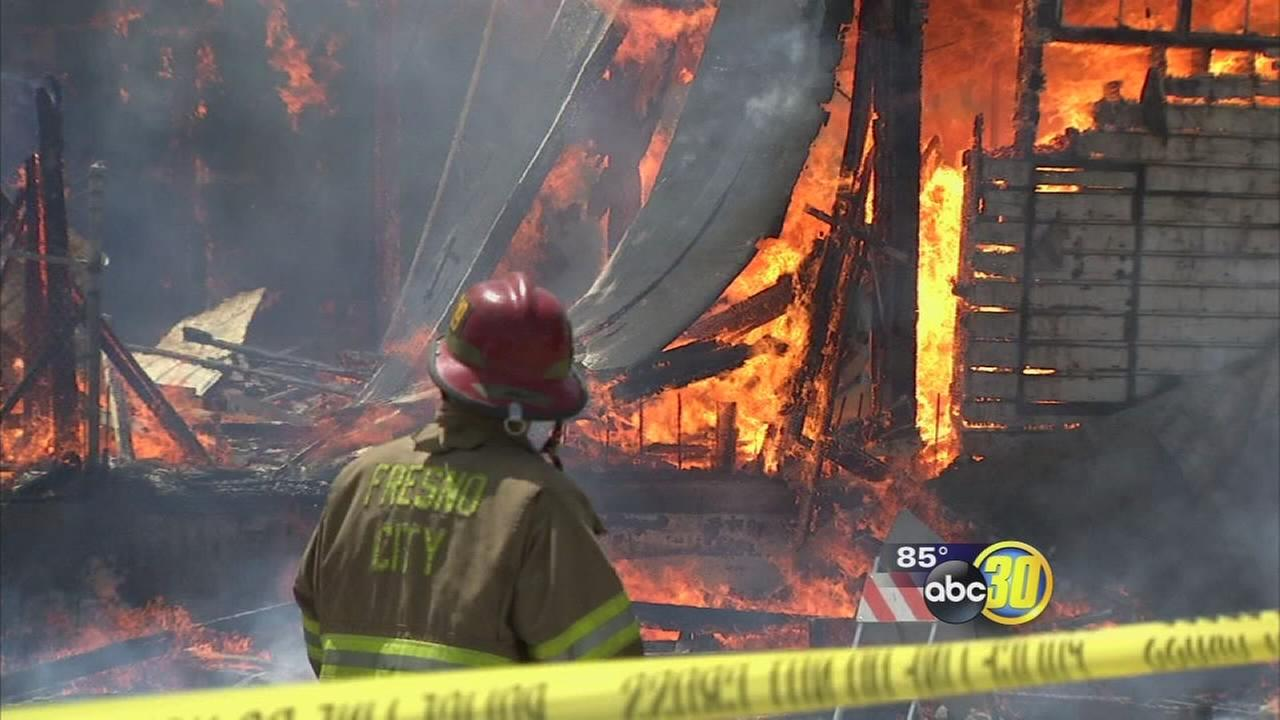 Fresno Fire tracking pattern of serial arsonists