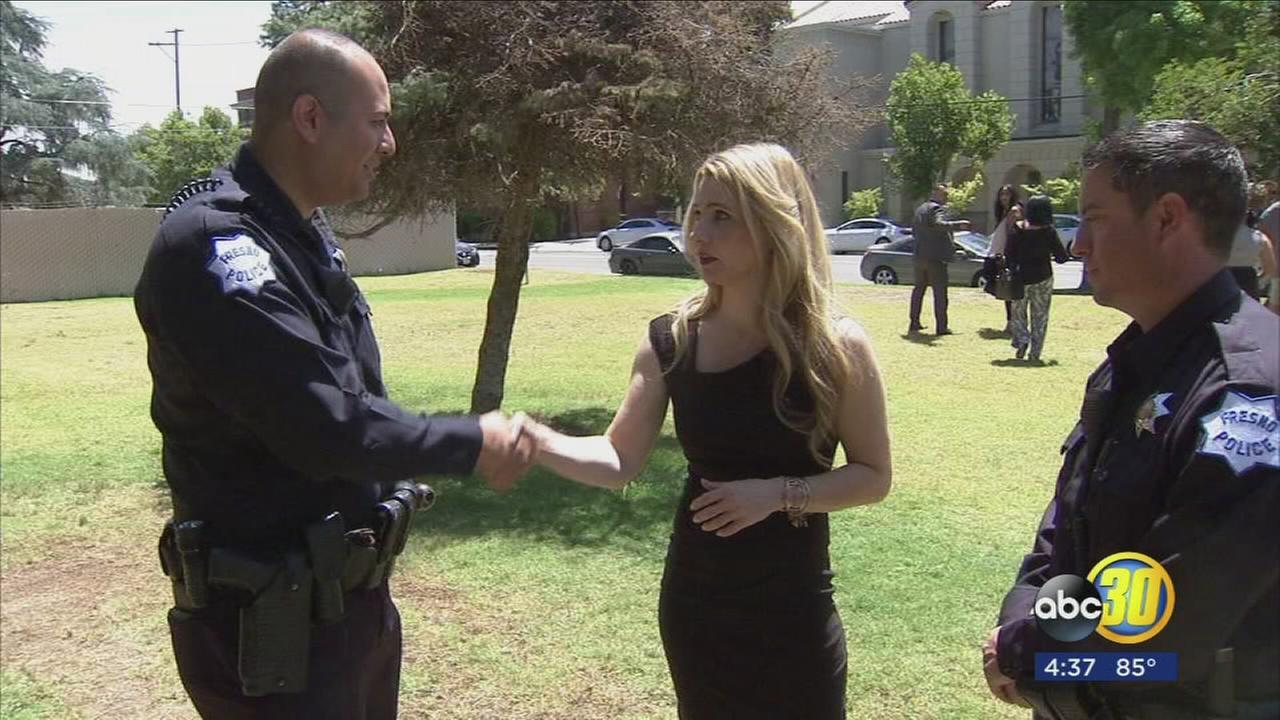 Fresno woman reunited with first responders who rescued her from domestic violence attack