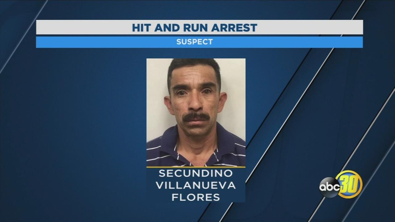 Visalia Police arrest driver of pickup truck they say was involved in hit-and-run
