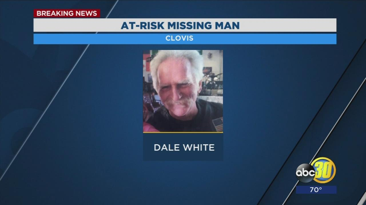 Clovis Police looking for at risk adult