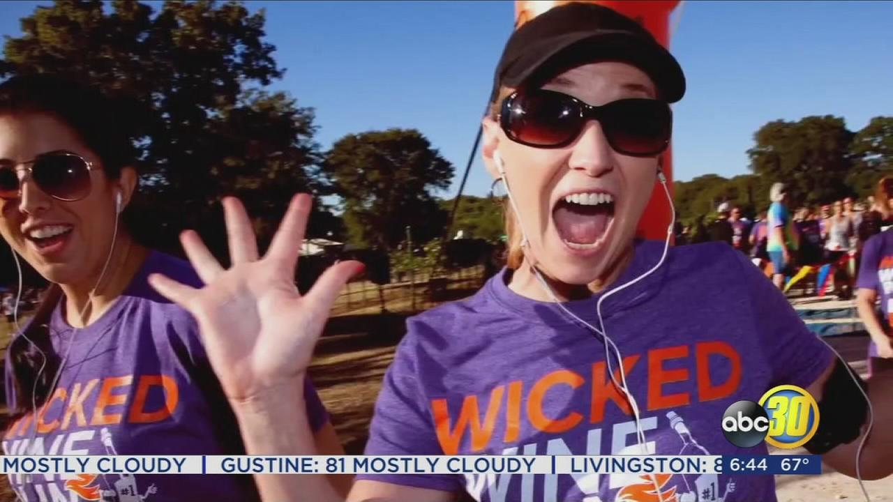 Unique event combines running and wine