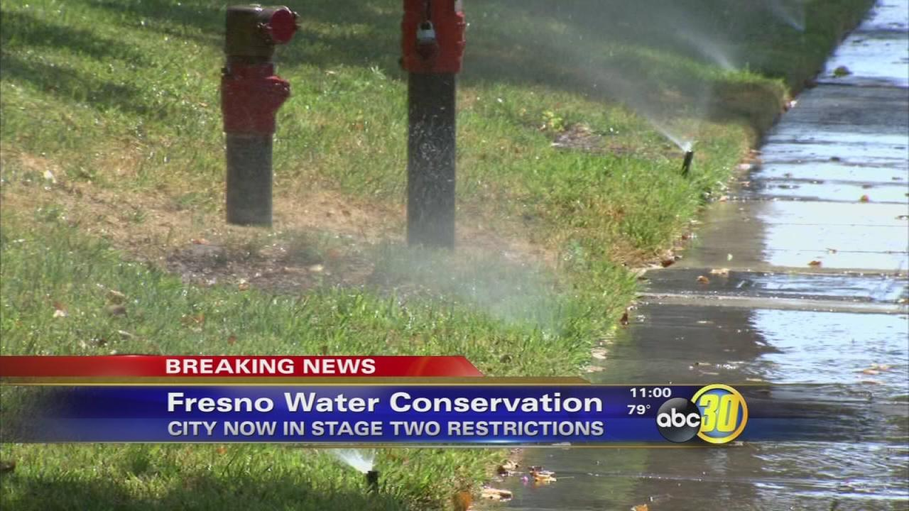 City of Fresno increases water restrictions