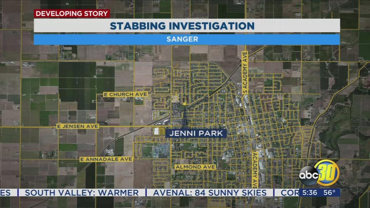 Sanger police investigating stabbing of 18-year-old at park