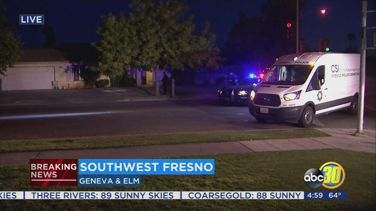 Man shot in the stomach in Southwest Fresno