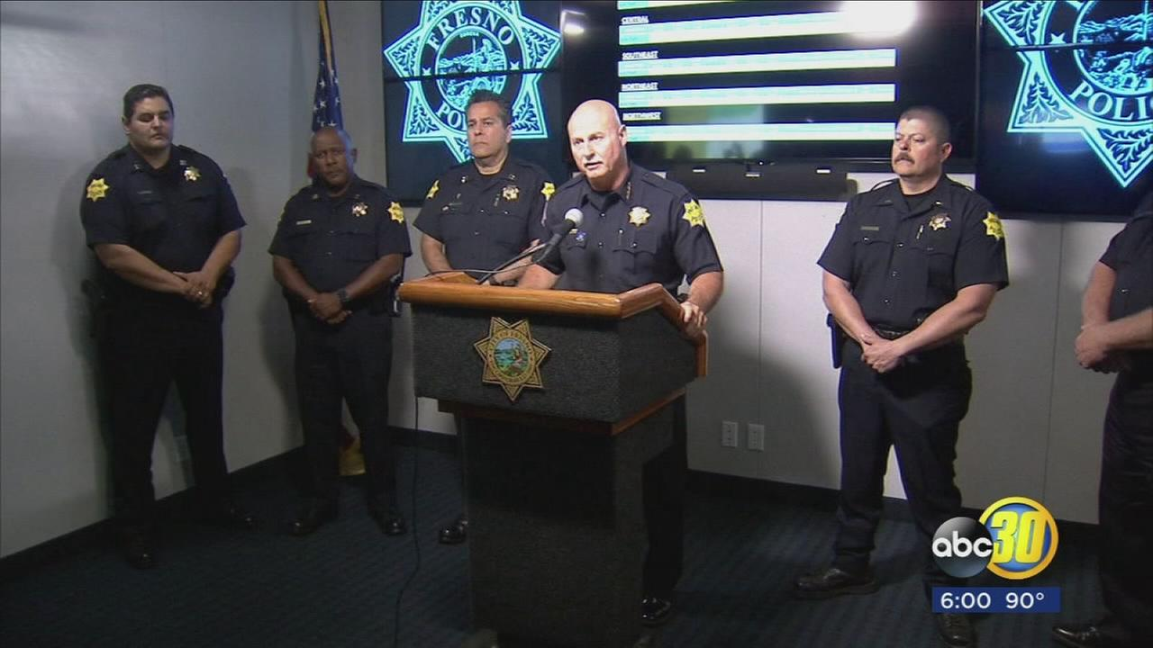 Fresno Police Chief says rape, assault, robbery, and car all down, but murder rate up