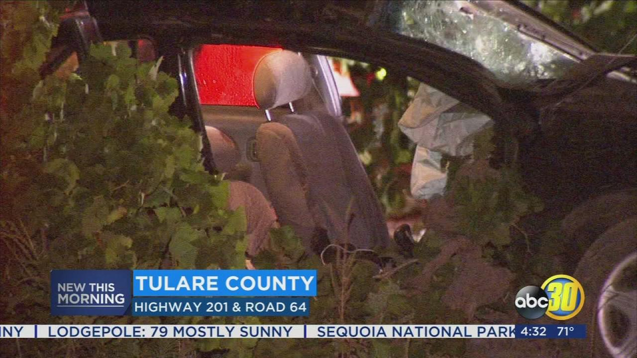 2 killed, including child, in Tulare County crash