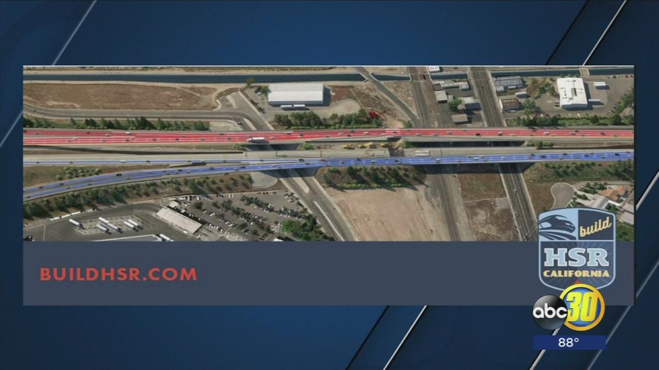 Lanes on Highway 180 to shift as High Speed Rail construction continues