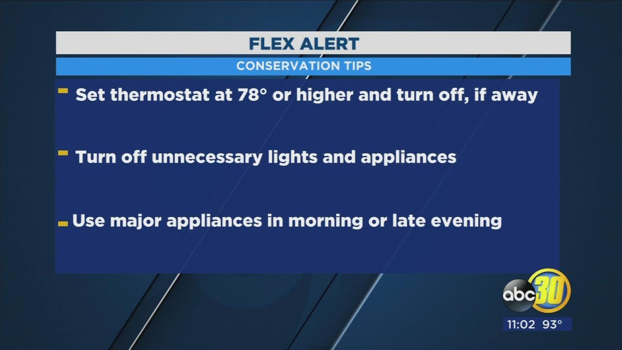 Statewide Flex Alert as temperatures rise
