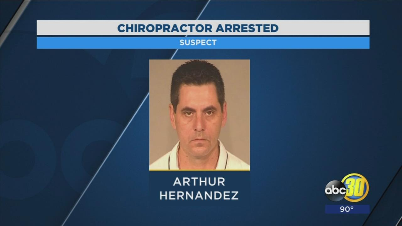 Northeast Fresno chiropractor arrested after being accused of sexual assault