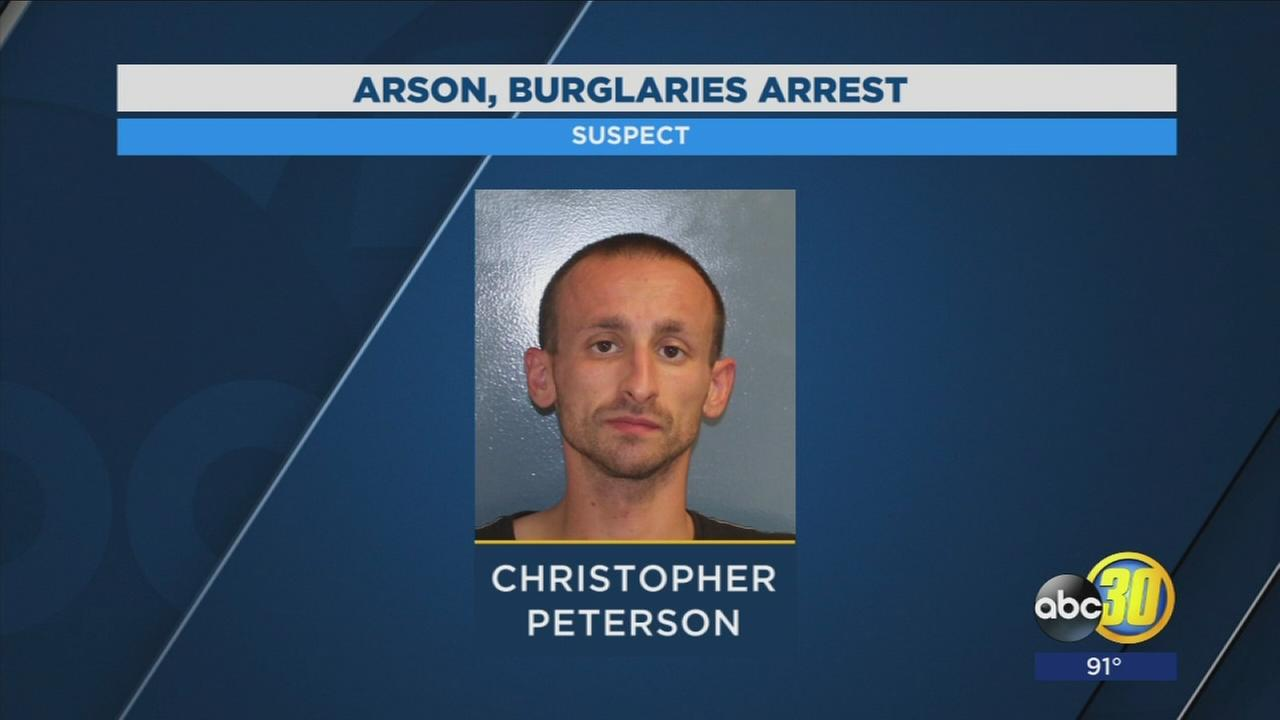 Visalia Police arrest man who is accused of burglarizing church then setting fire