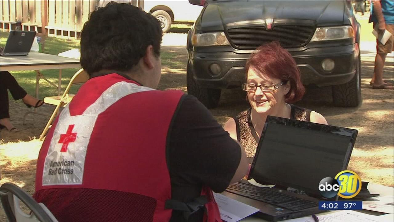 American Red Cross is assisting local families impacted by recent Kings River flooding