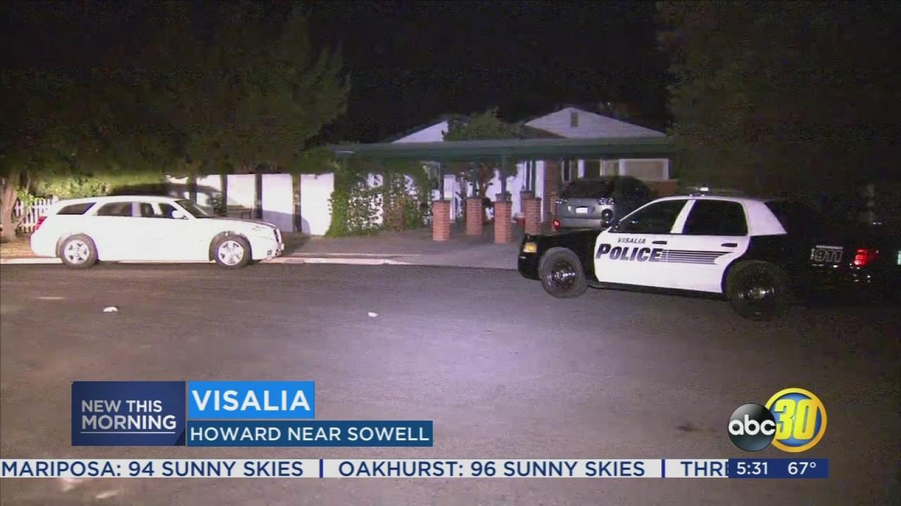 Woman found in Visalia pool dies