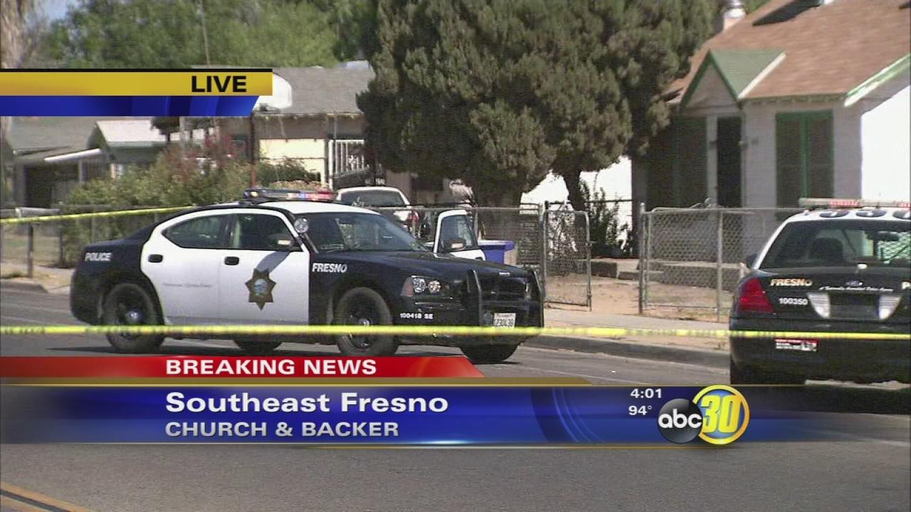 Three-year-old shot in drive-by shooting in Southeast Fresno