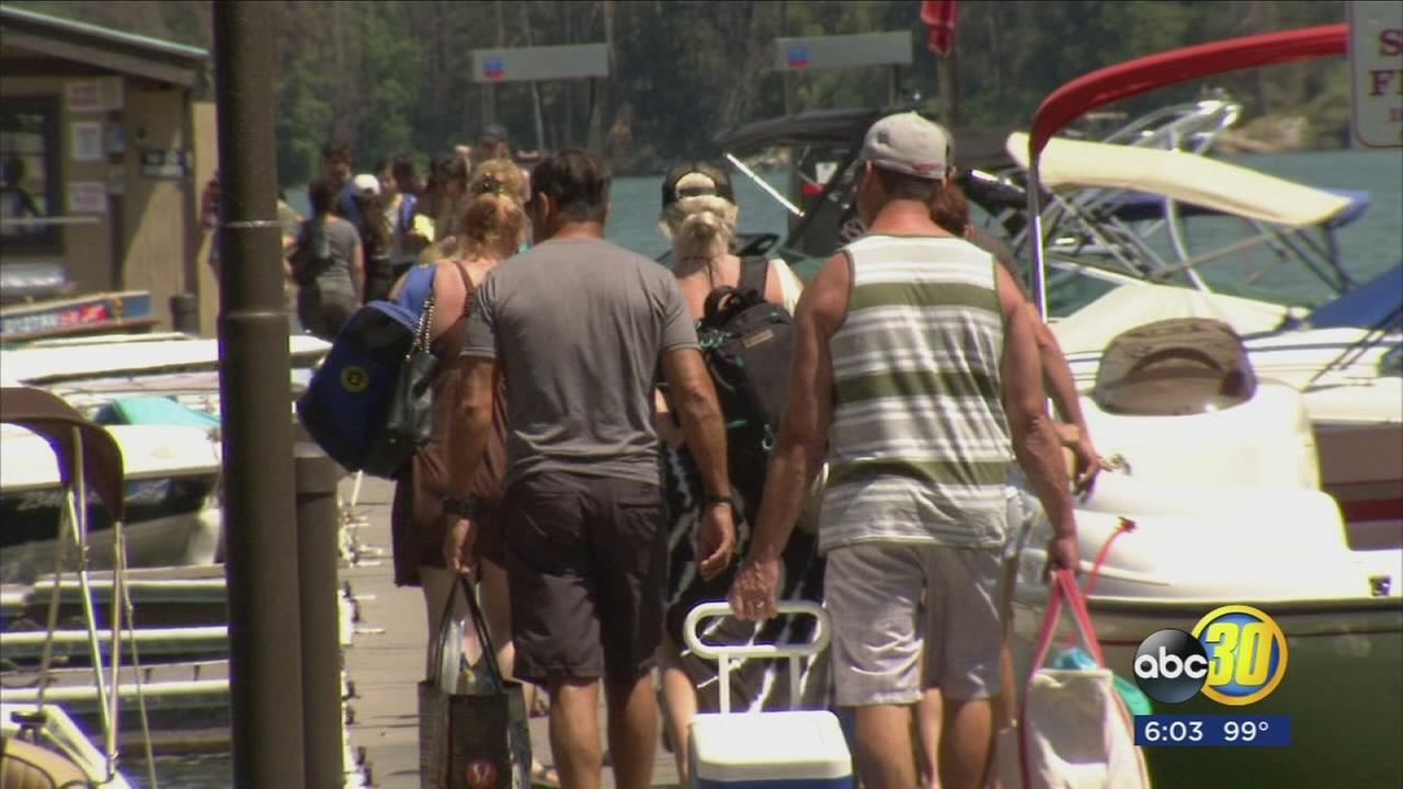 Bass Lake businesses reeling in profit thanks to Independence Day crowd