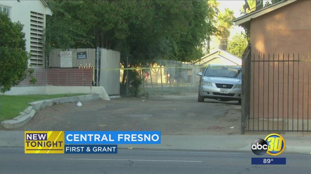 Man in critically injured after being shot in Central Fresno
