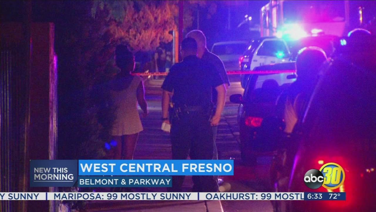 Police are investigating a shooting in West Central Fresno
