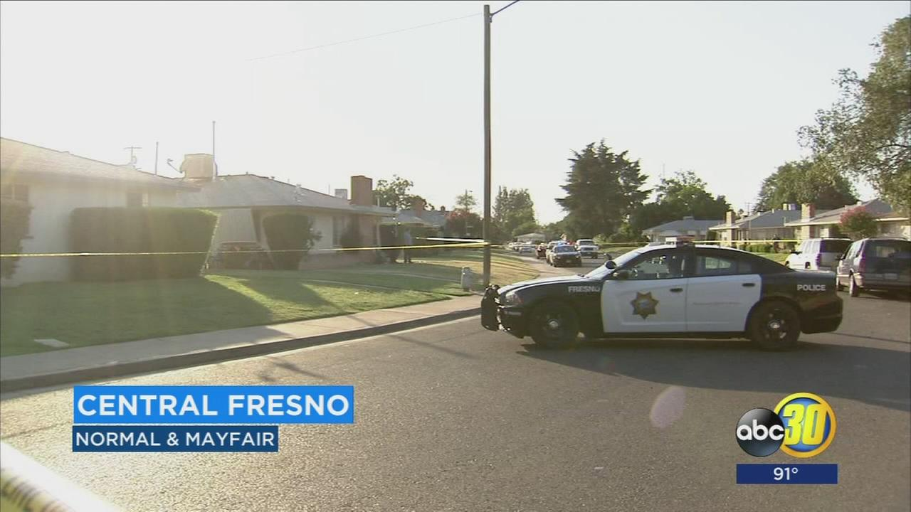 Man shot by suspects during home invasion in Central Fresno