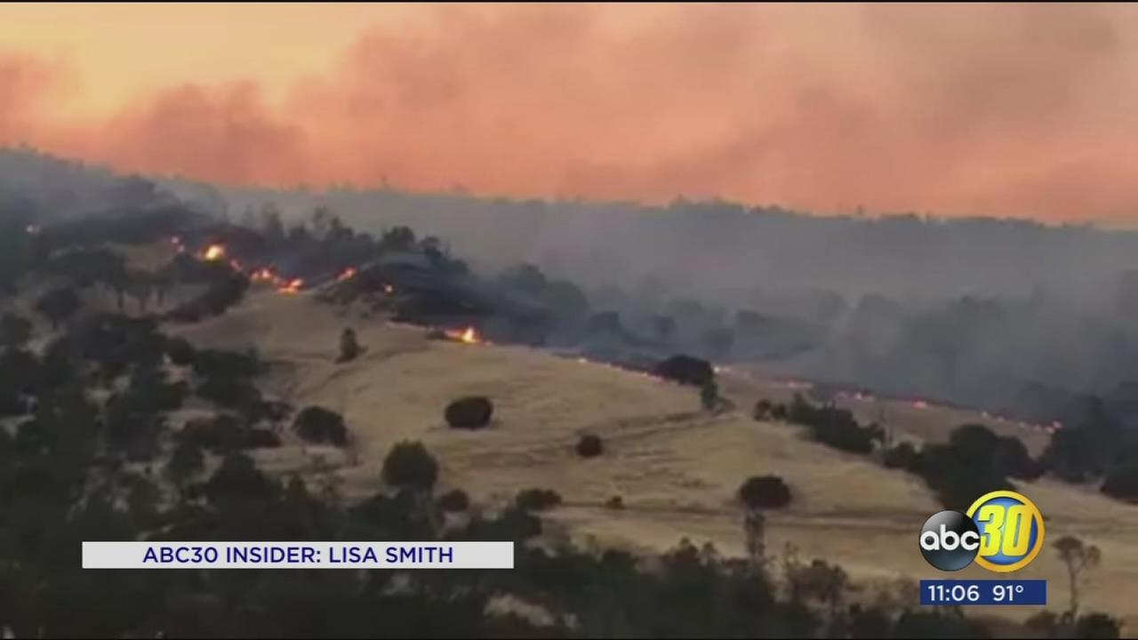 Garza Fire near Avenal grows to 5,000 acres, 5 percent contained