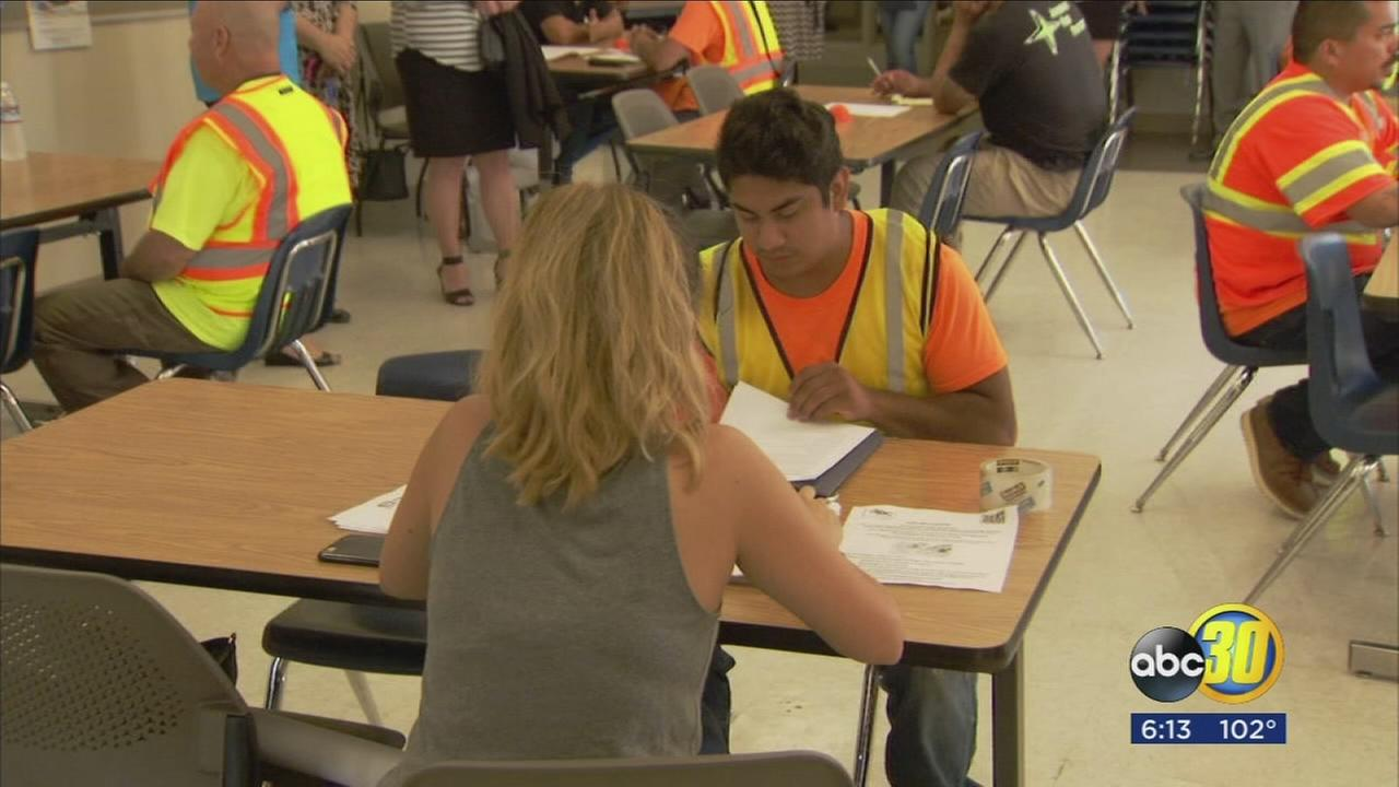 Shortage of skilled labor in the construction industry has local job hunters cashing in on the building trend