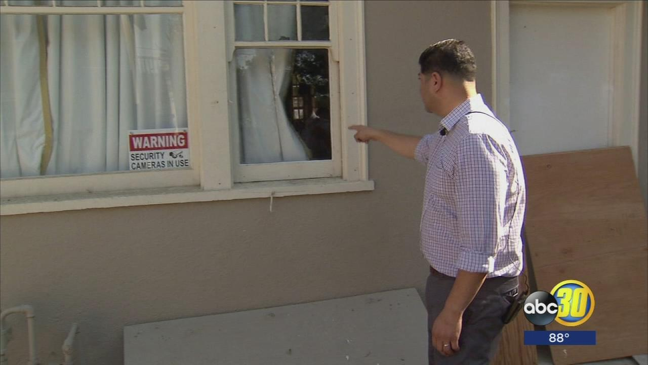 Fresno Council Member teaming up with neighbors in an effort to fight back against suspected burglar