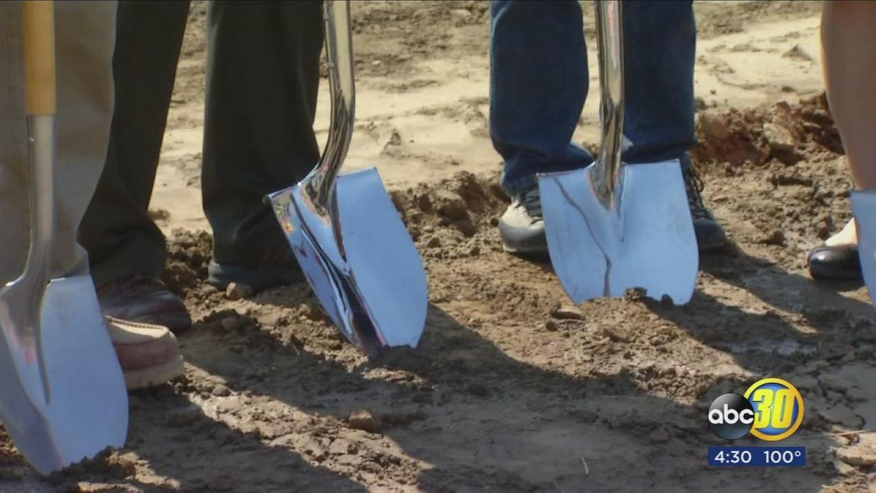 Groundbreaking for new PG&E Service Center in Lemoore