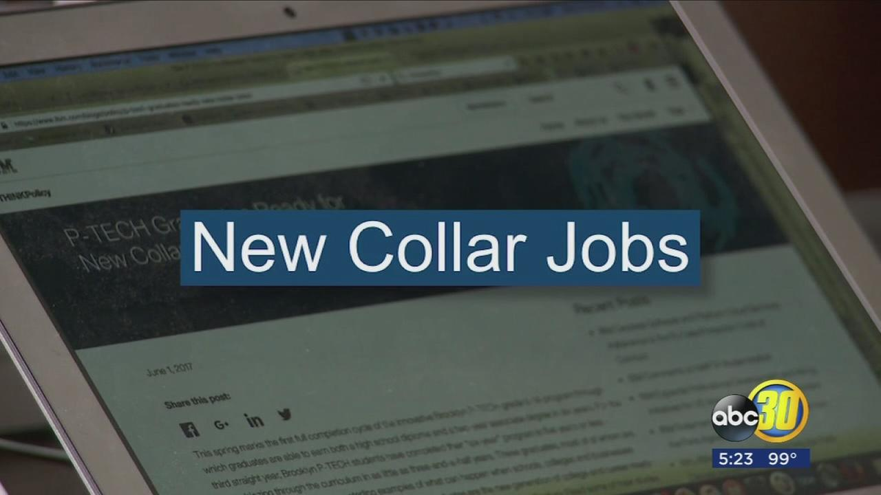 Blue, White, and now New Collar jobs