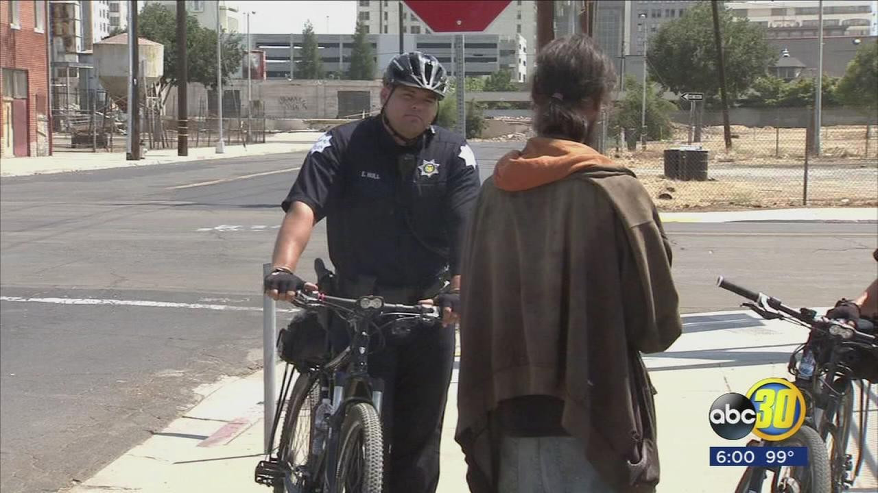 Fresno Police say overall crime down in Downtown Fresno because of new tactics