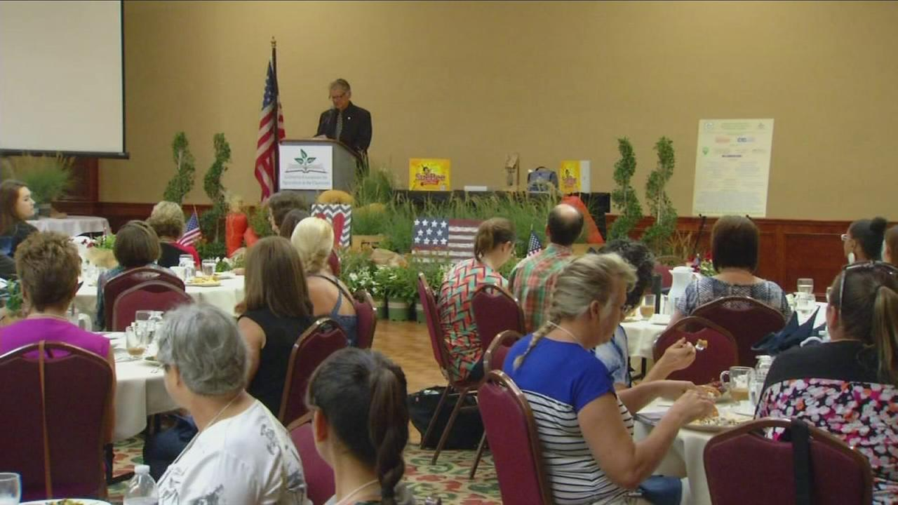 Hundreds of teachers in the South Valley for a celebration of agriculture