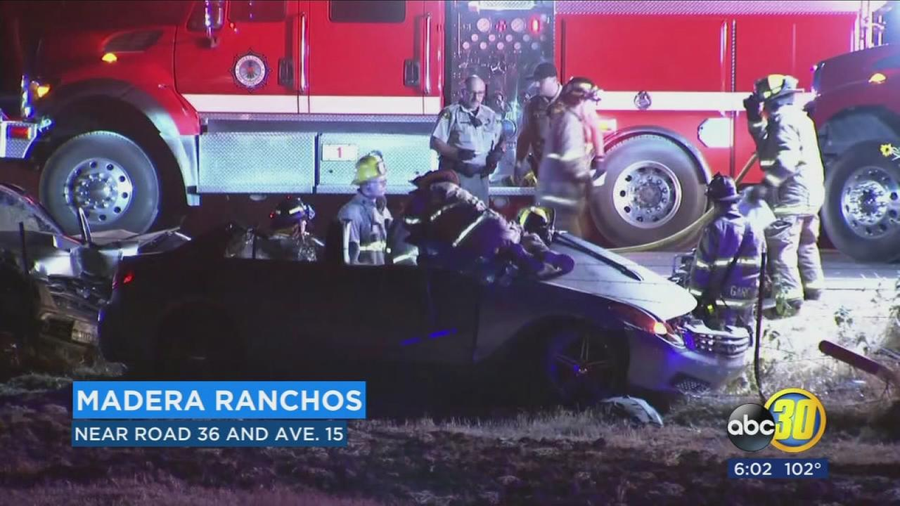 Driver causes deadly crash after blowing stop sign in Madera Ranchos