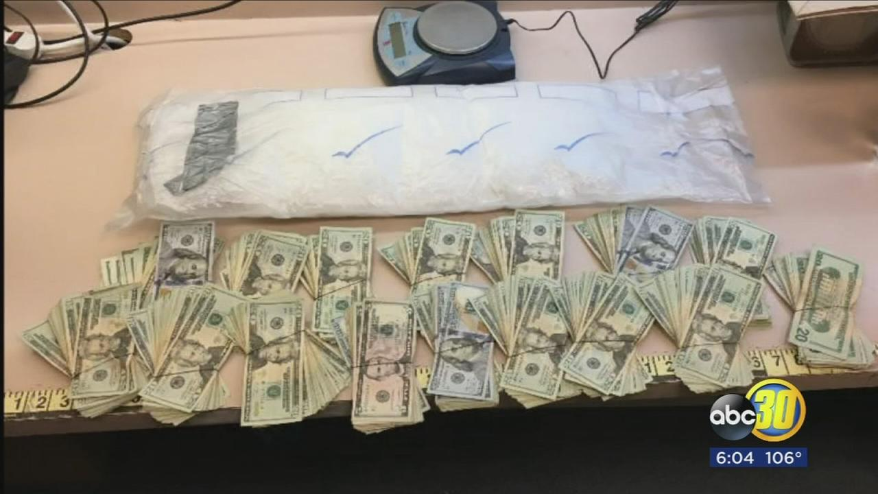 Coalinga police discover $75,000 worth of meth inside truck