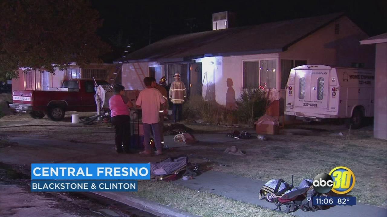 House fire in Central Fresno may have started due to electrical issue