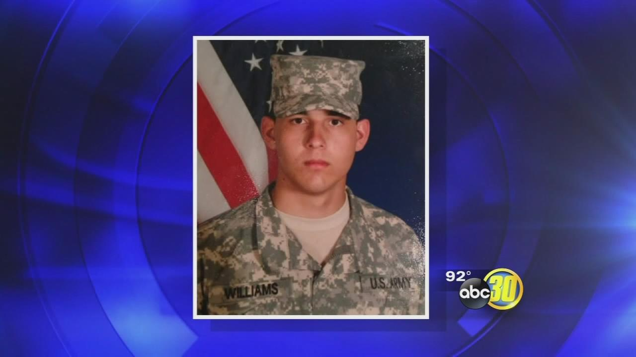 Fallen soldier remembered at candlelight vigil in Visalia