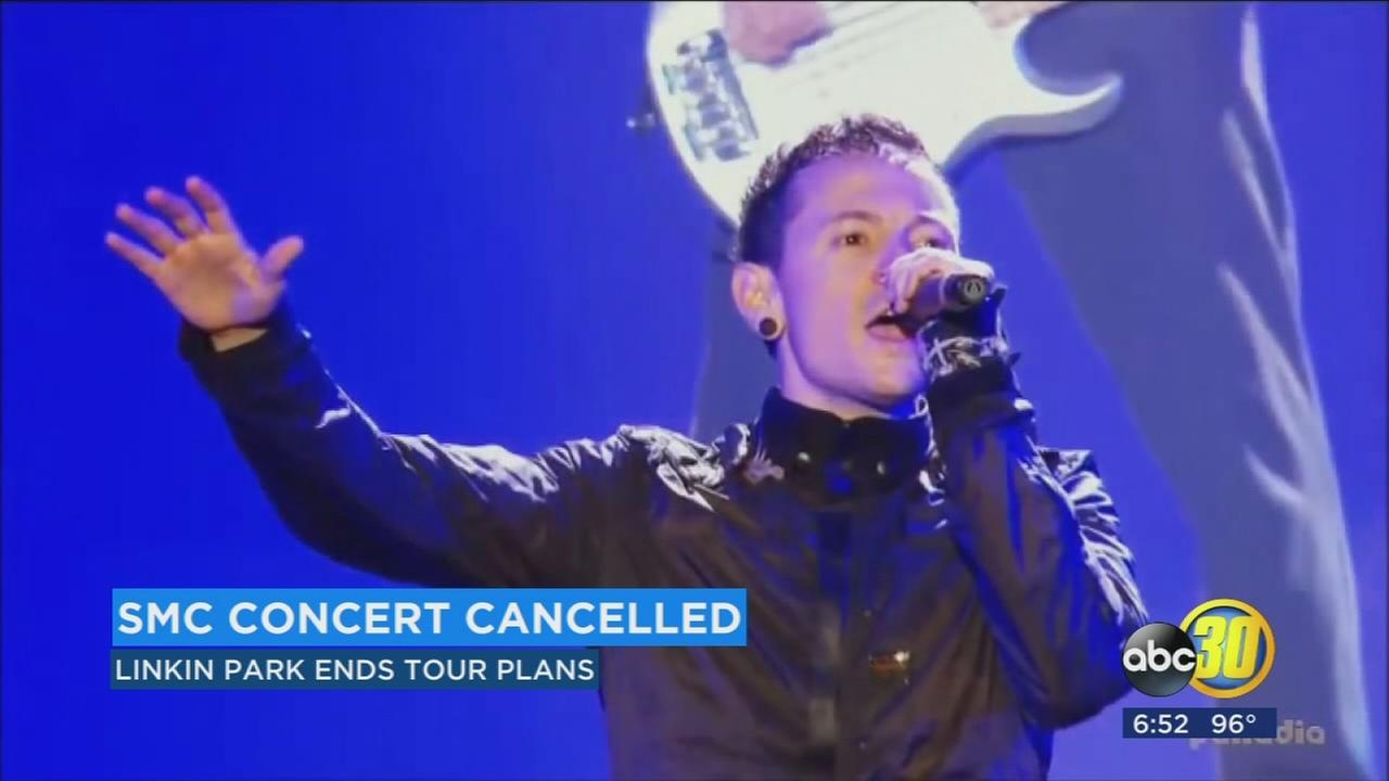 Linkin Park cancels tour following death of lead singer