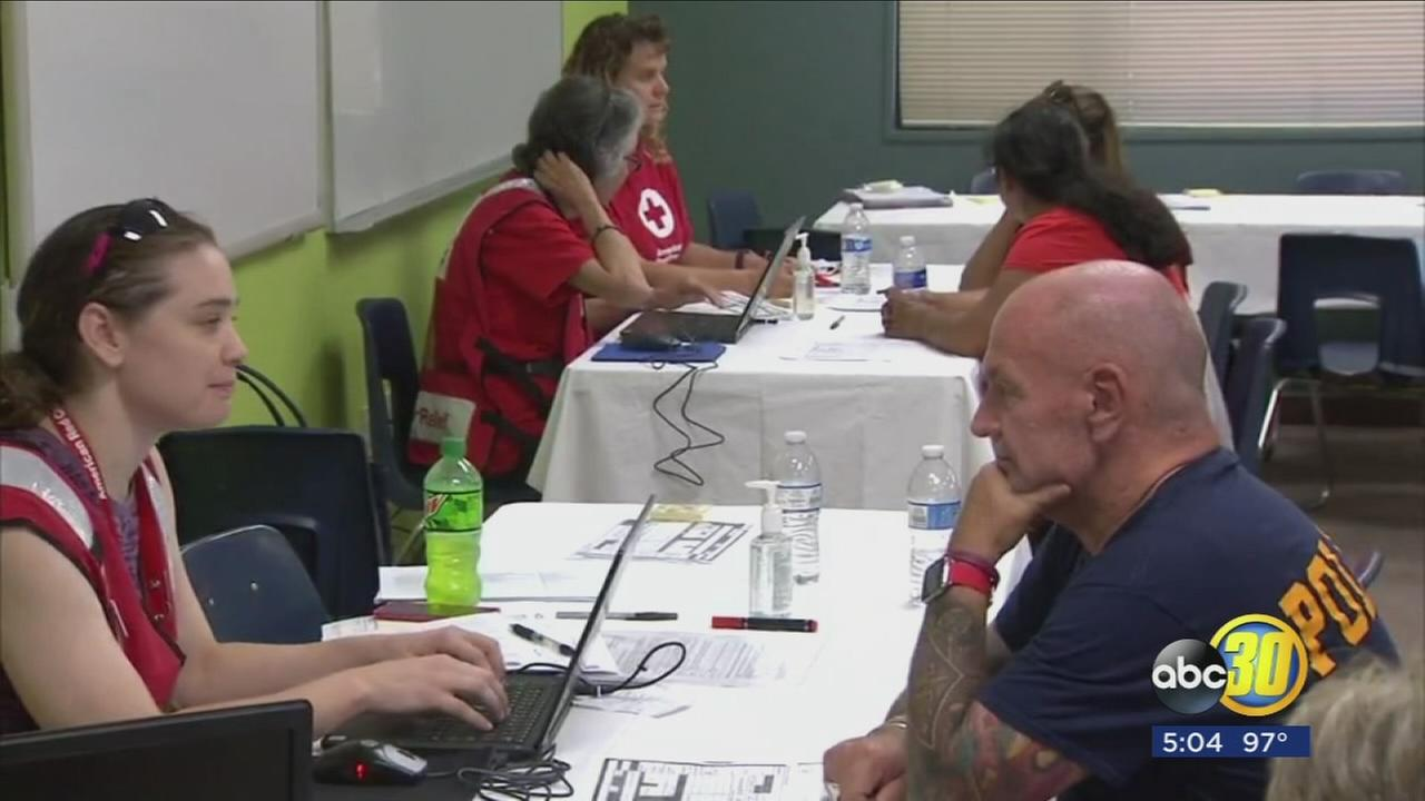 Red Cross providing emotional help to Detwiler Fire victims