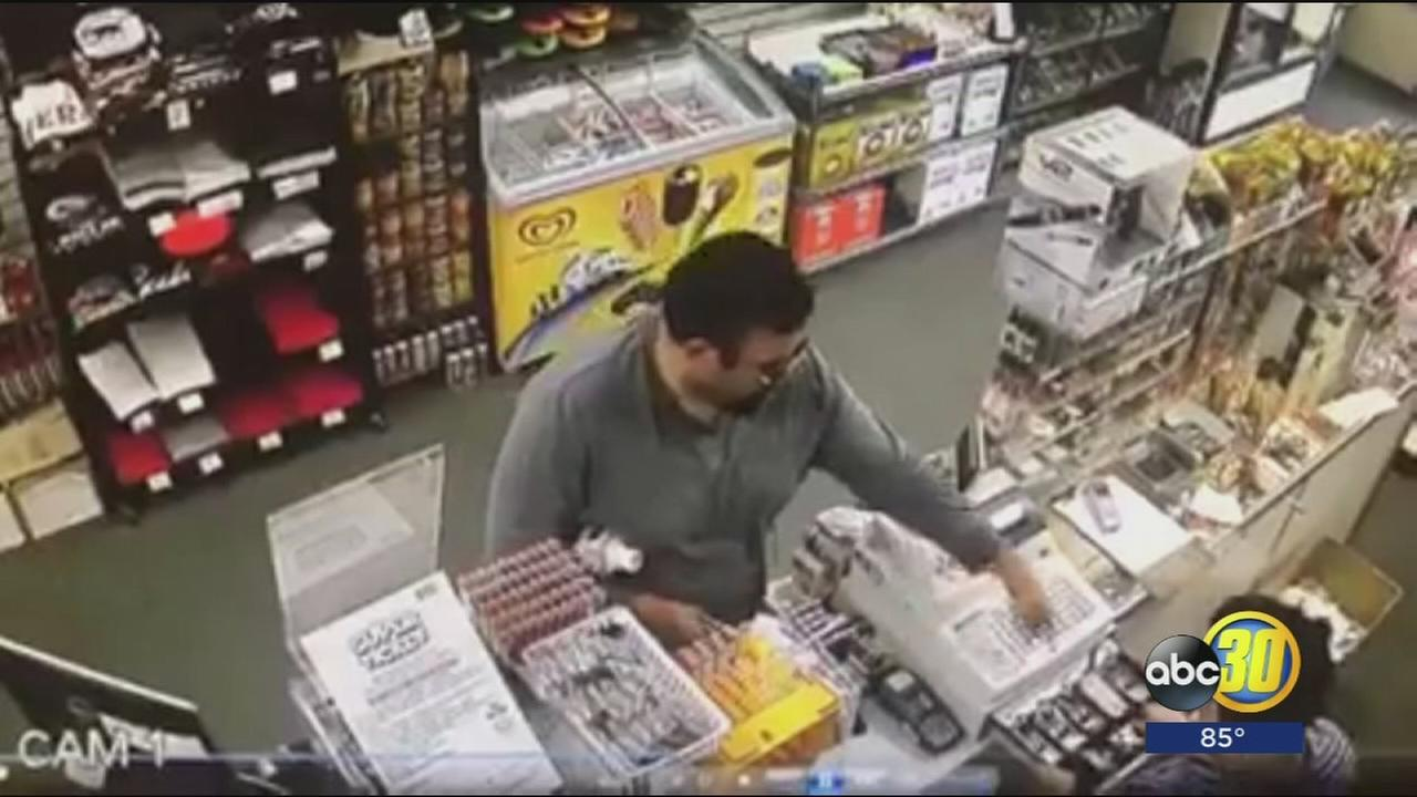 Chowchilla Police release video of armed robbery