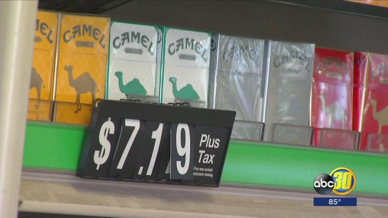 New study shows cigarette sales in California dropped dramatically since new cigarette tax went into effect