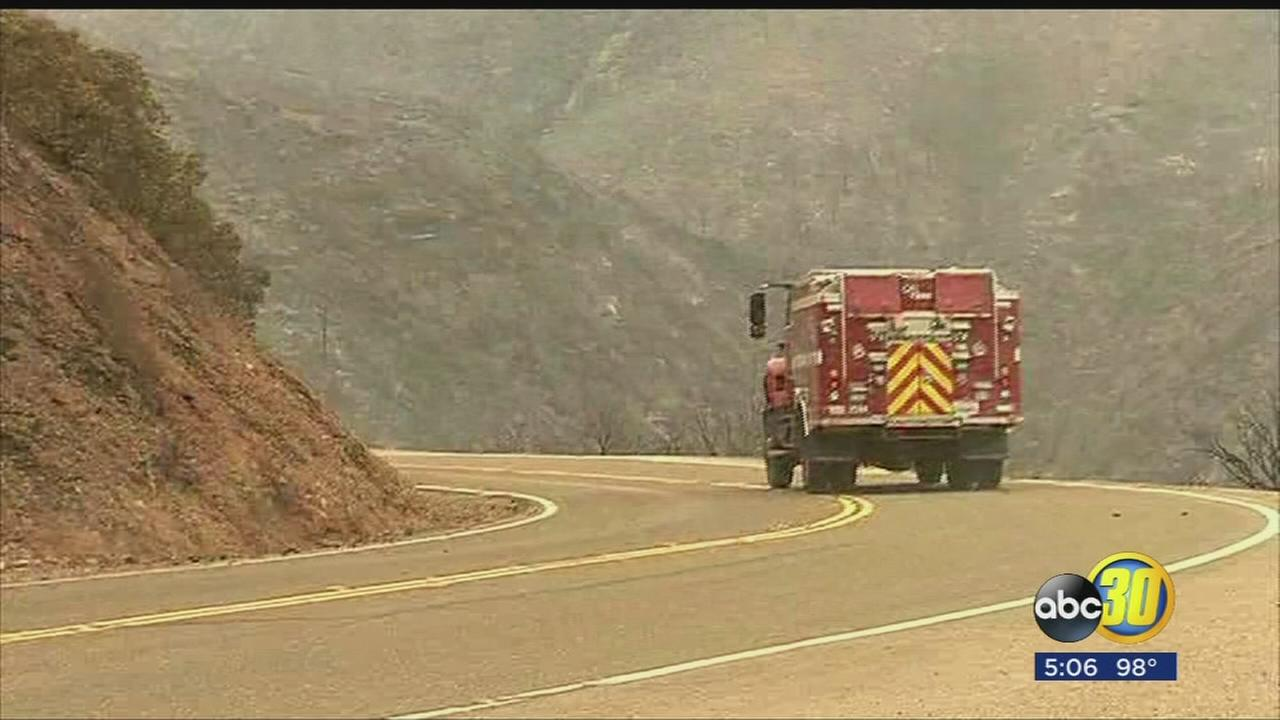 Hundreds of homes still threatened by Detwiler Fire in Mariposa County