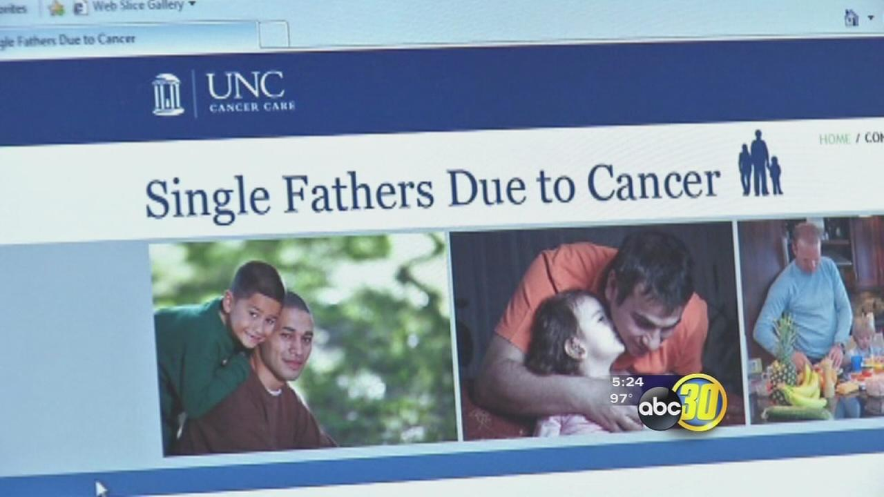 Support for single fathers due to cancer