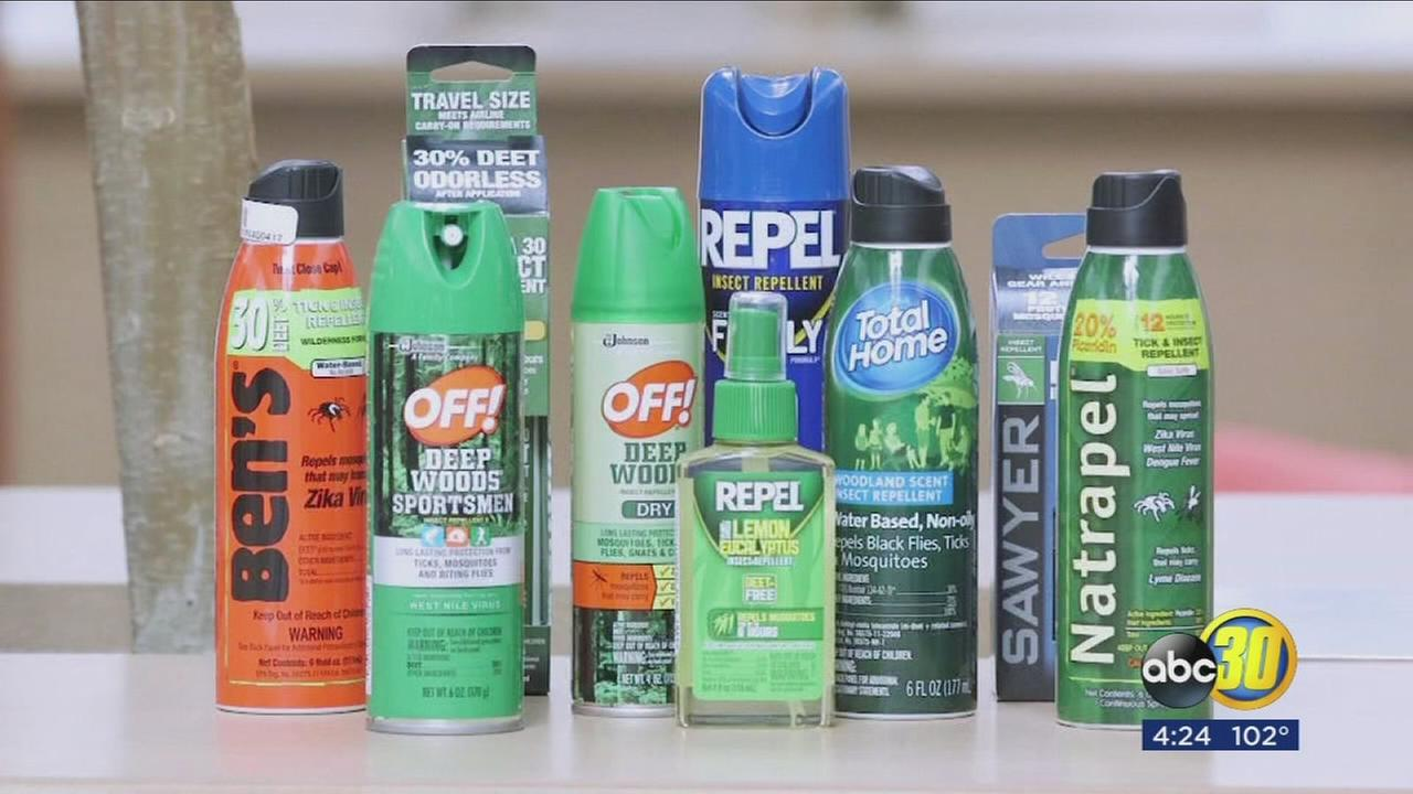 Top tested insect repellents