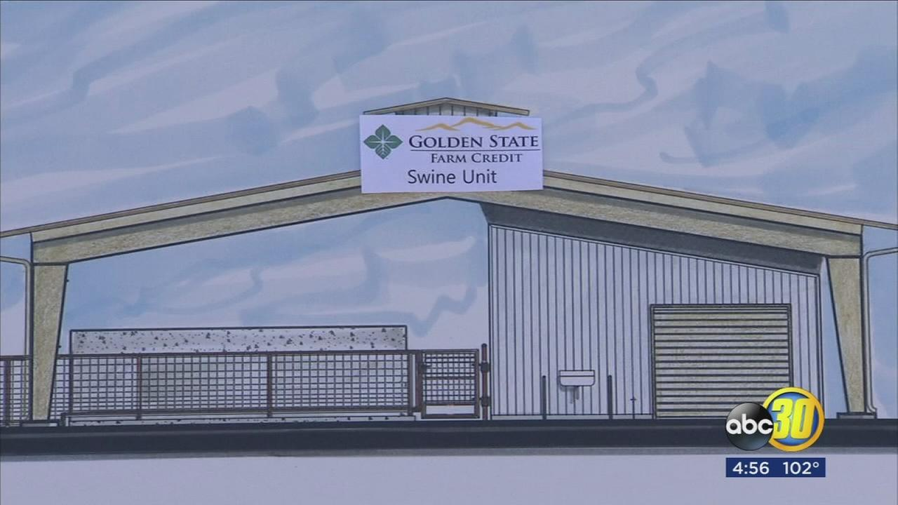 State of the art school farm and learning laboratory being built in Hanford for FFA students