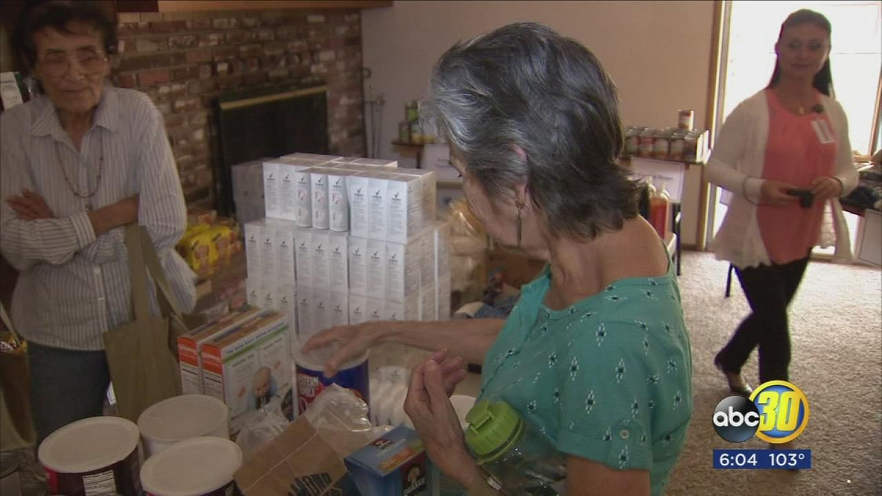 Mariposa families who lost everything in Detwiler Fire are getting a helping hand