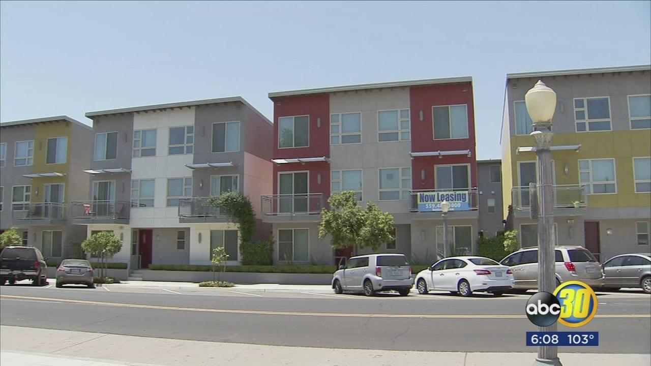Rent checks on average are up across the board in Fresno